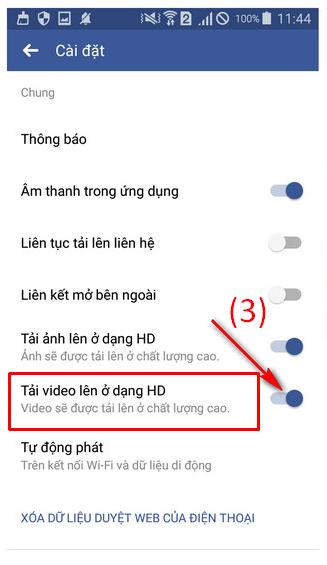 Hướng dẫn đăng tải video HD lên Facebook bằng iOS, Android + Hình 8