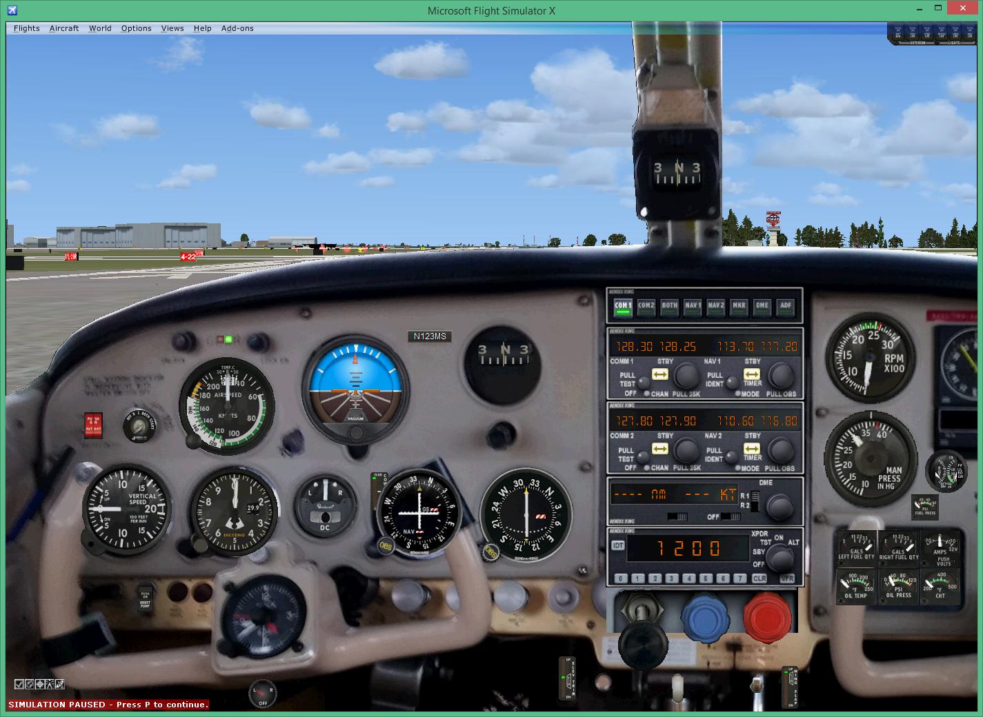 Creating custom M20C panel for flight simulator - General