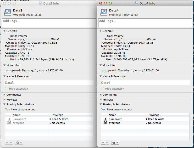 Data3 & Data4 Comparison