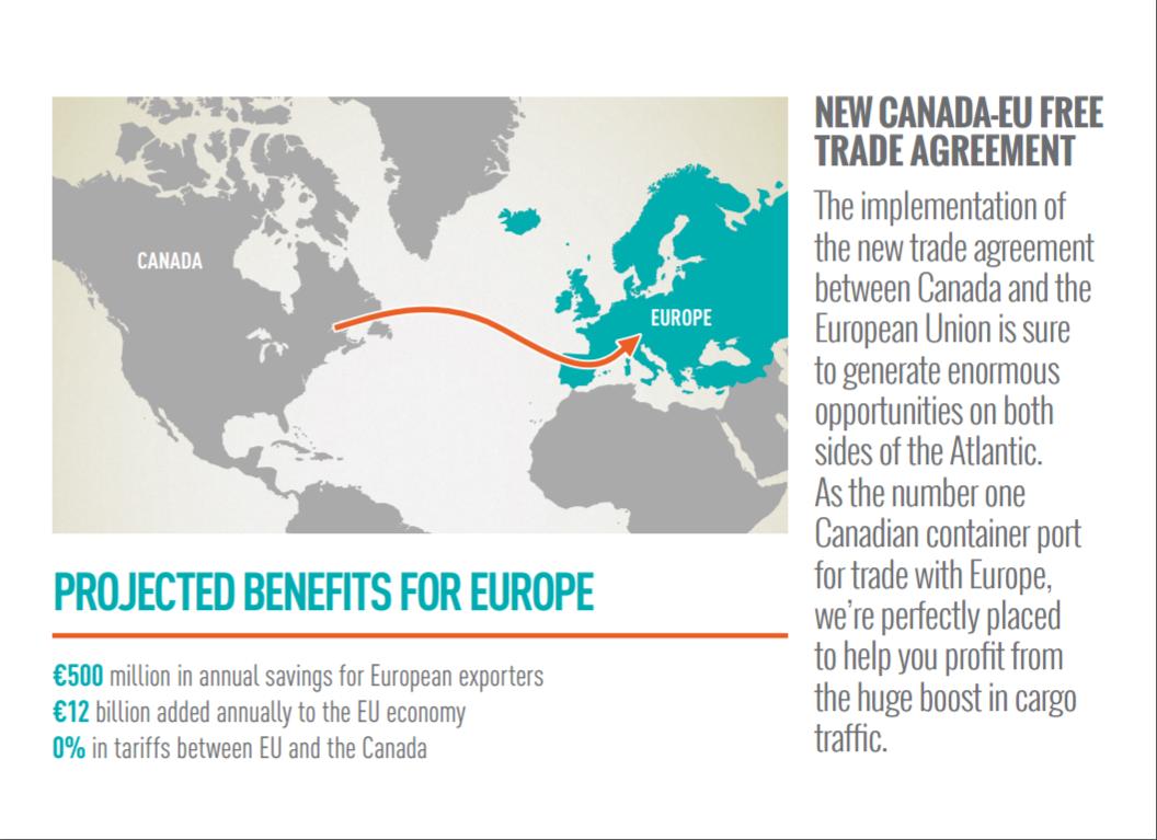New Canada Eu Free Trade Agreement
