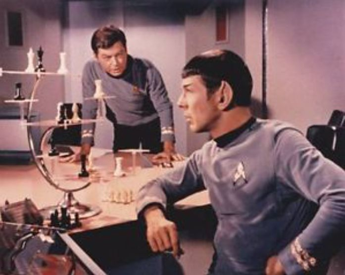 Is 3d chess like spock played on star trek any good chess forums - Star trek tridimensional chess ...