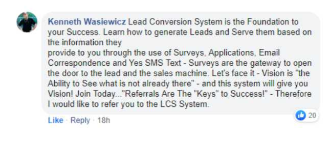 Lead Conversion Squared Reviews