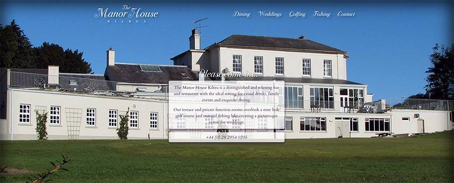 Juice Wedding Band Northern Ireland | pic of the Manor House Kilrea website