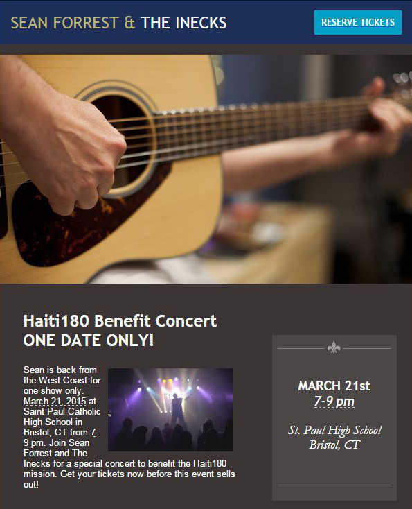 Haiti Benefit Concert at St Paul