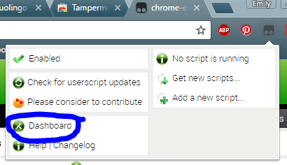 Forum Comments - How to install user scripts - Duolingo