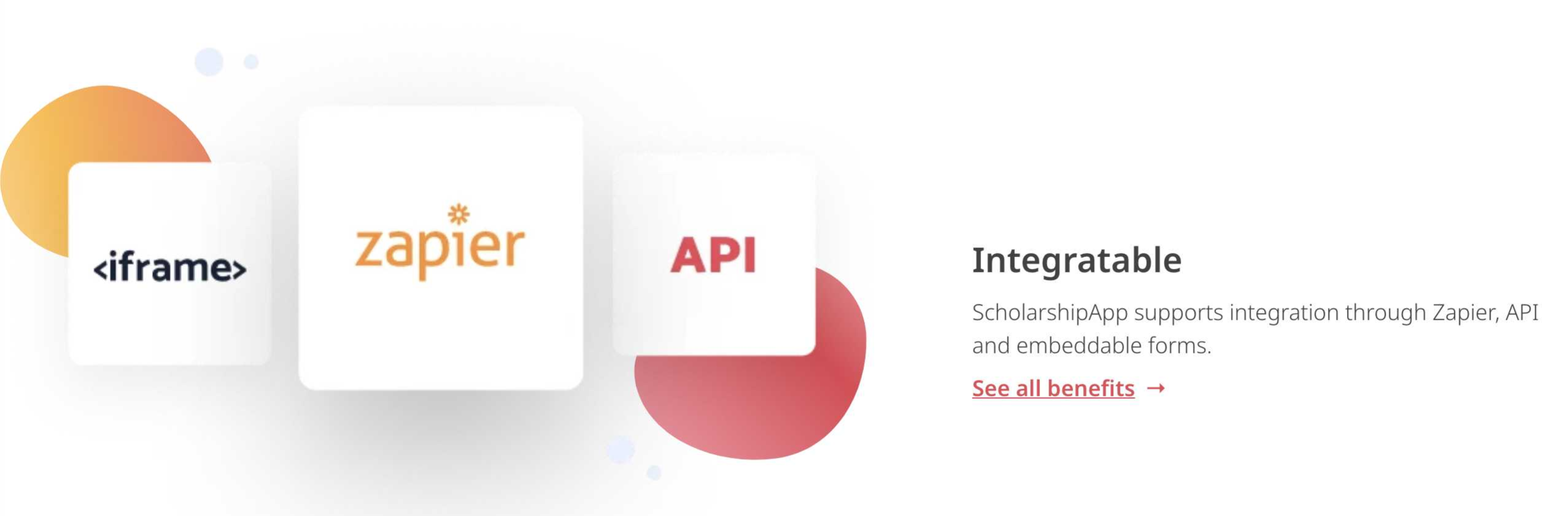 zapier and scholarship app