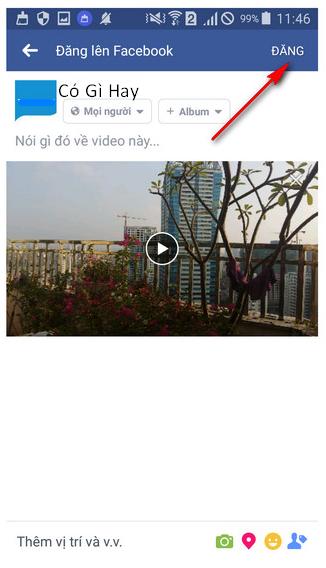 Hướng dẫn đăng tải video HD lên Facebook bằng iOS, Android + Hình 9