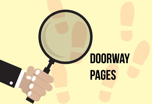 Google Doorway Pages