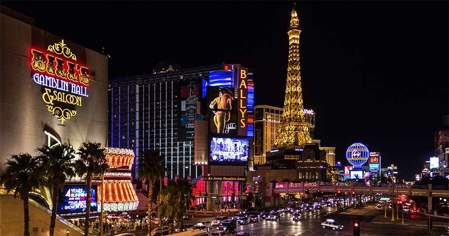 Juice Wedding Band Northern Ireland | pic of the Las Vegas strip