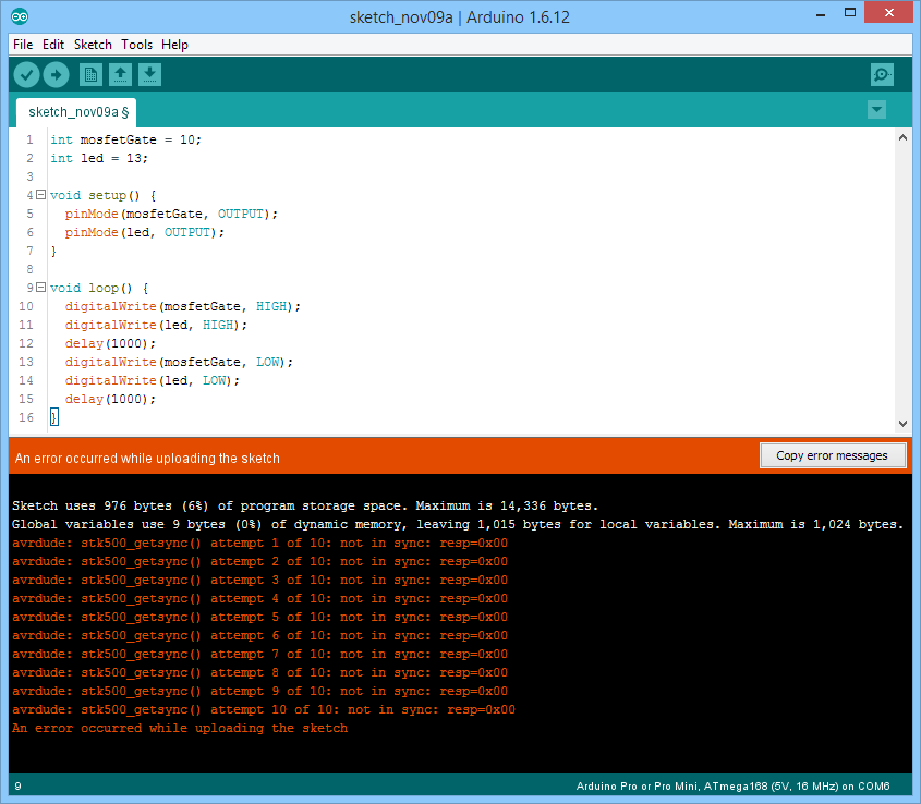 Can't upload to any Arduino anymore  stk500_getsync()     not in