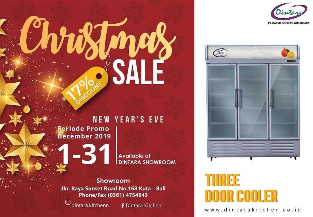 Dapatkan Diskon 17% Untuk Produk Three Door Cooler ATMCool