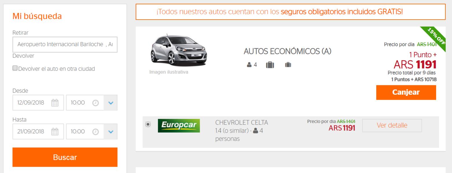 Banco Galicia Quiero Viajes Hasta 30 Off En Alquiler De Autos En