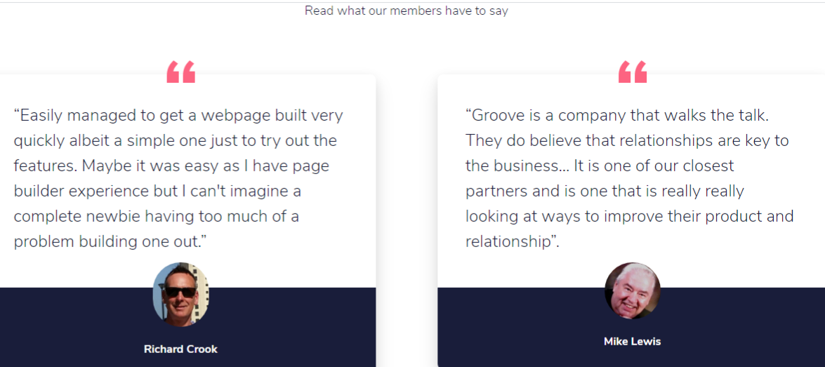 groovefunnels review good reviews