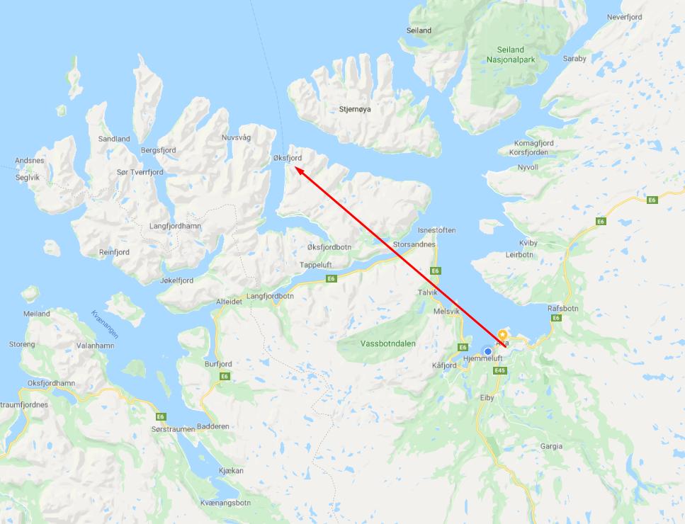 Alta - Øksfjord