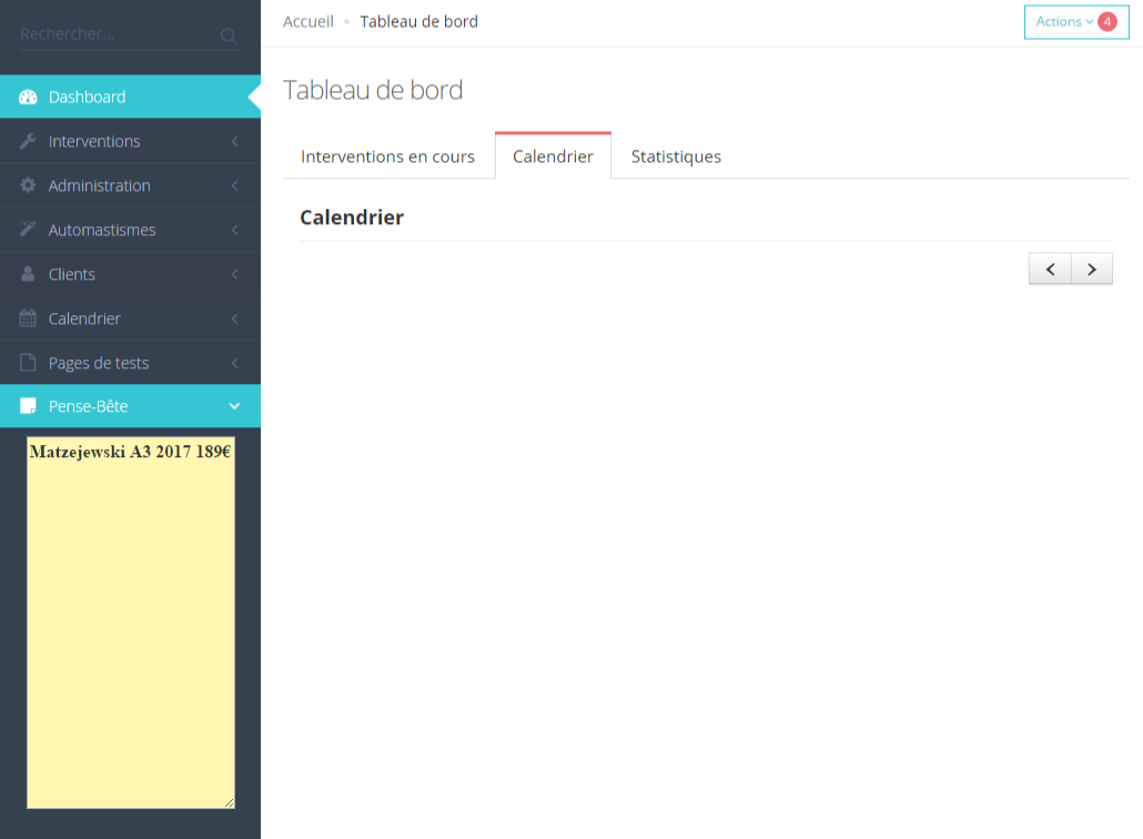Calendar in Tab doesn't work | Keenthemes