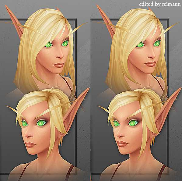 New Blood Elf Model