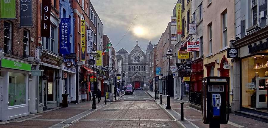 Juice Wedding Band Northern ireland | pic of a Dublin street