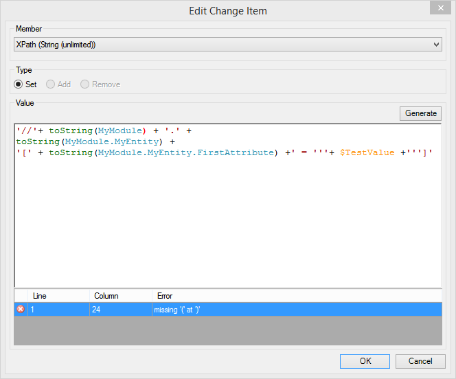 Generating XPath String
