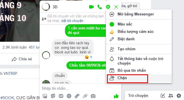 Hướng dẫn chặn tin nhắn quảng cáo trên Facebook Messenger + Hình 7
