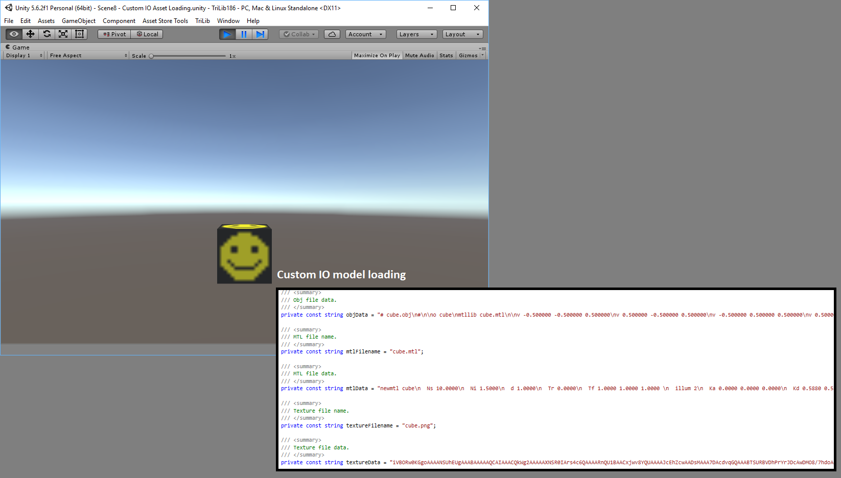 Released] TriLib - Model loader package | Page 7 - Unity Forum