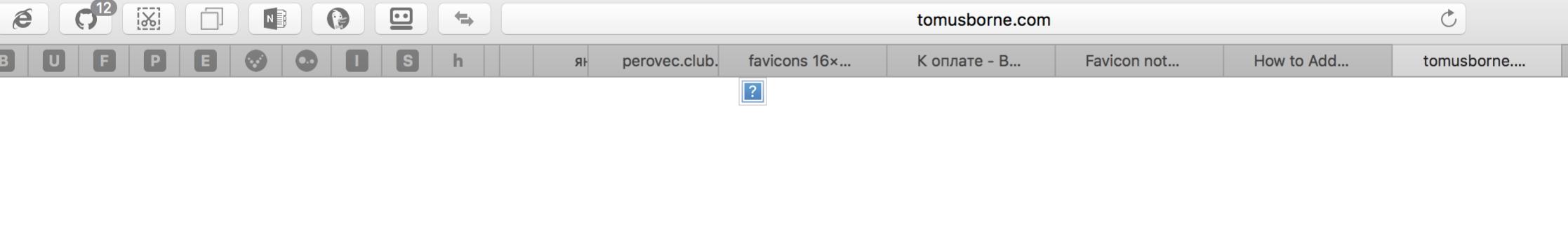 favicon with errors