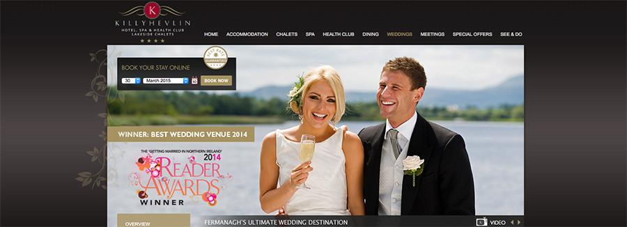 Juice Wedding Band Northern ireland   pic of the Killyhevlin Hotel Enniskillen website