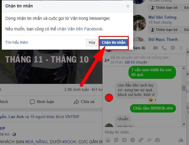 Hướng dẫn chặn tin nhắn quảng cáo trên Facebook Messenger + Hình 8