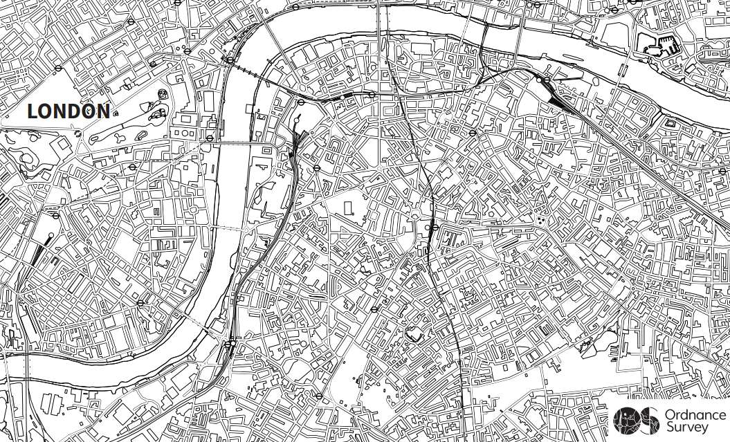 Ordnance Survey Blog Maps: Adult Colouring In [No ...
