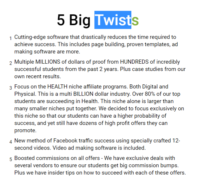 Healthy Commissions Review twistis