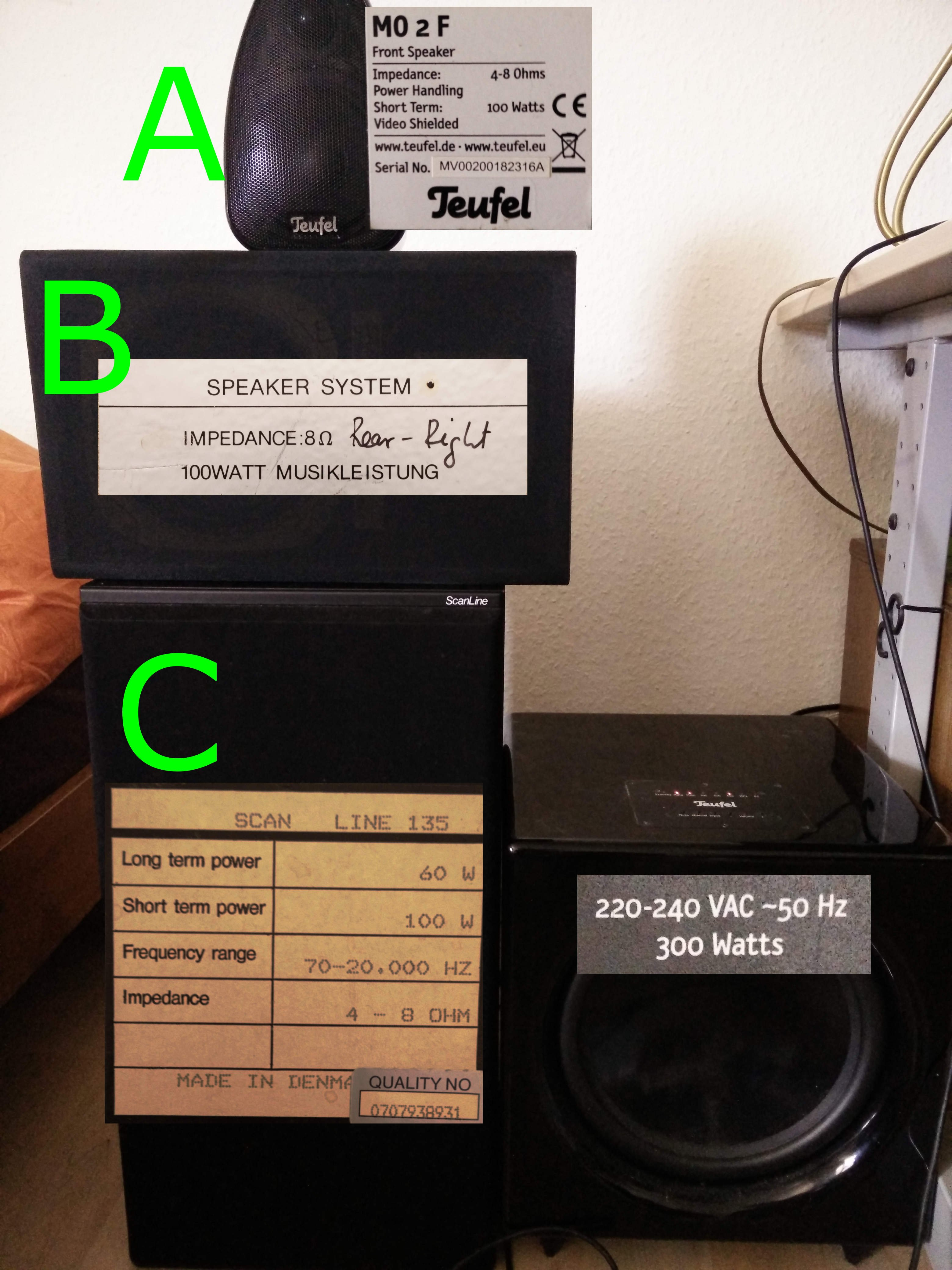 Combining Different Speakers To One Channel Level1techs Wiring Add The 2 Impedance Together For Parallel And Technical Details
