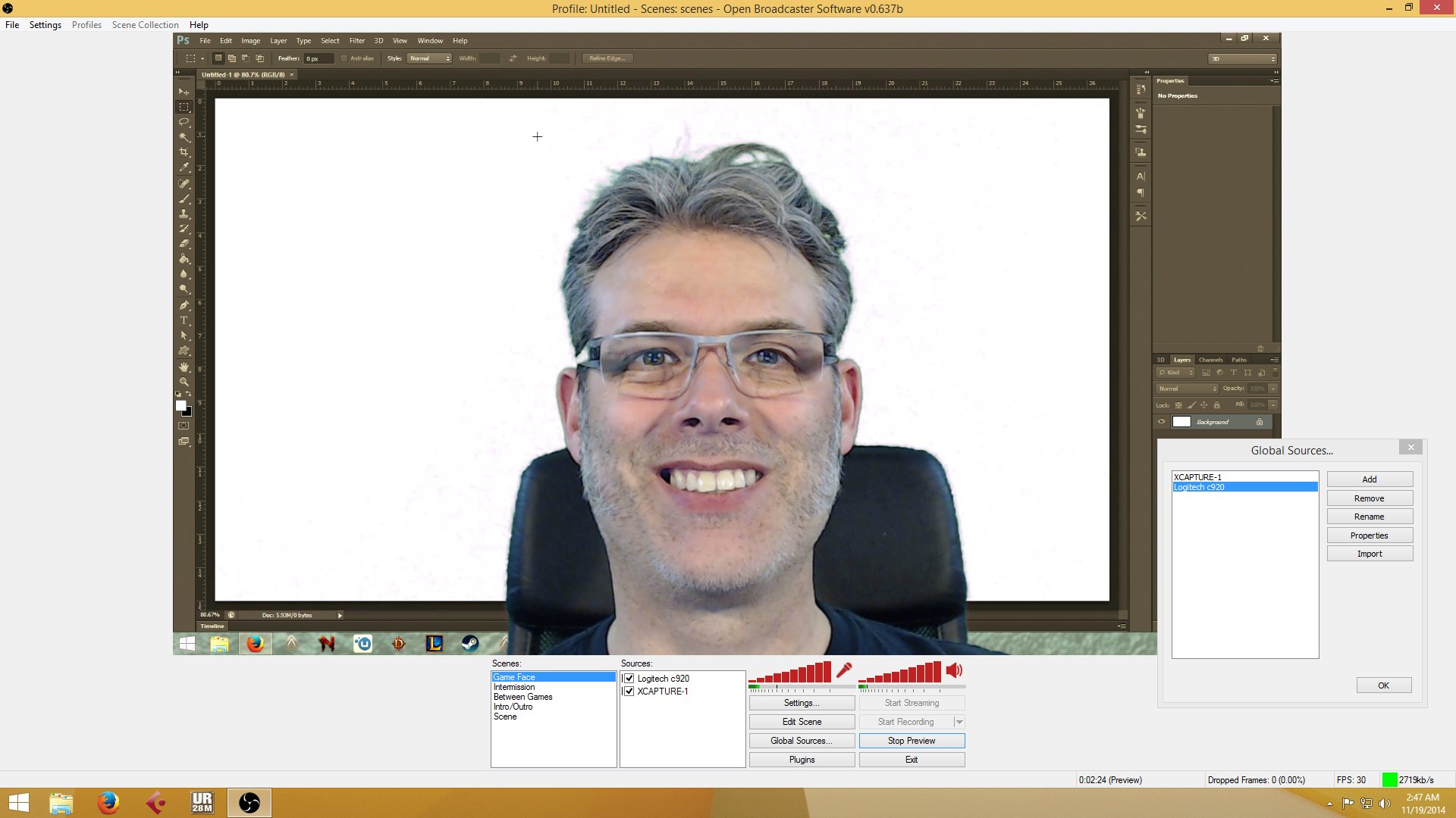 Question / Help - Chroma Key Worked Great-- Now, not so much