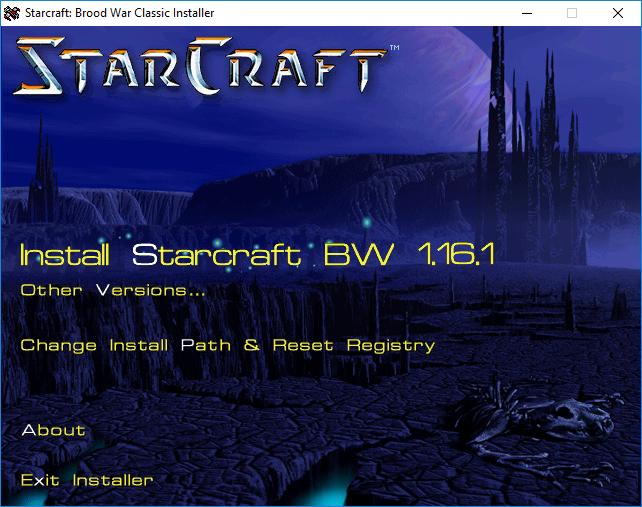 Starcraft Classic Installer & Downgrader (Topic)