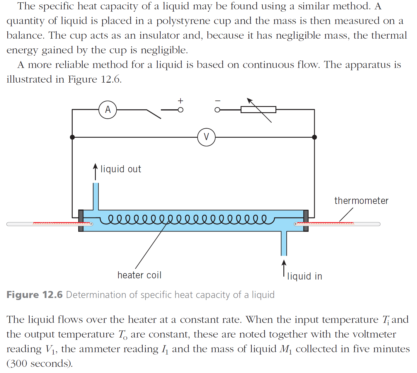 specific heat capacity in liquids coursework physics Physics skills lesson blog apps specific latent heat of fusion is the energy required to change 1kg of a substance from a solid to a liquid without changing.
