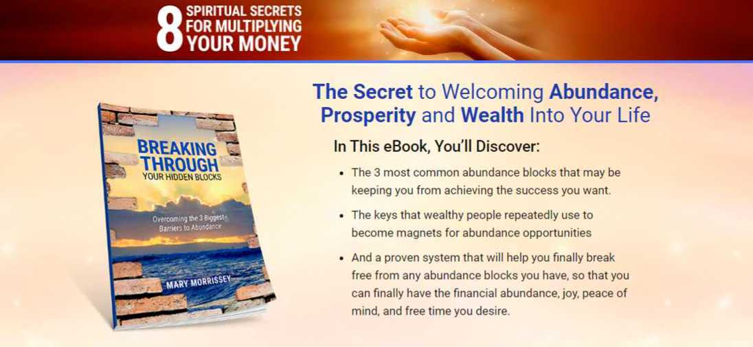 Mary Morrissey - 8 Spiritual Secrets For Multiplying Your Money