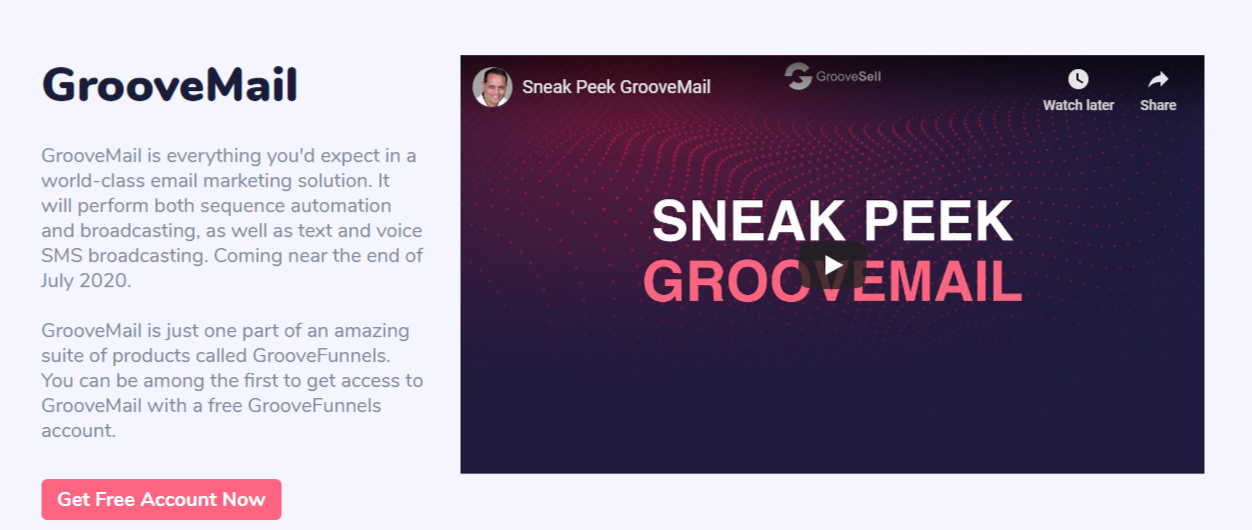 groovefunnels review groovemail