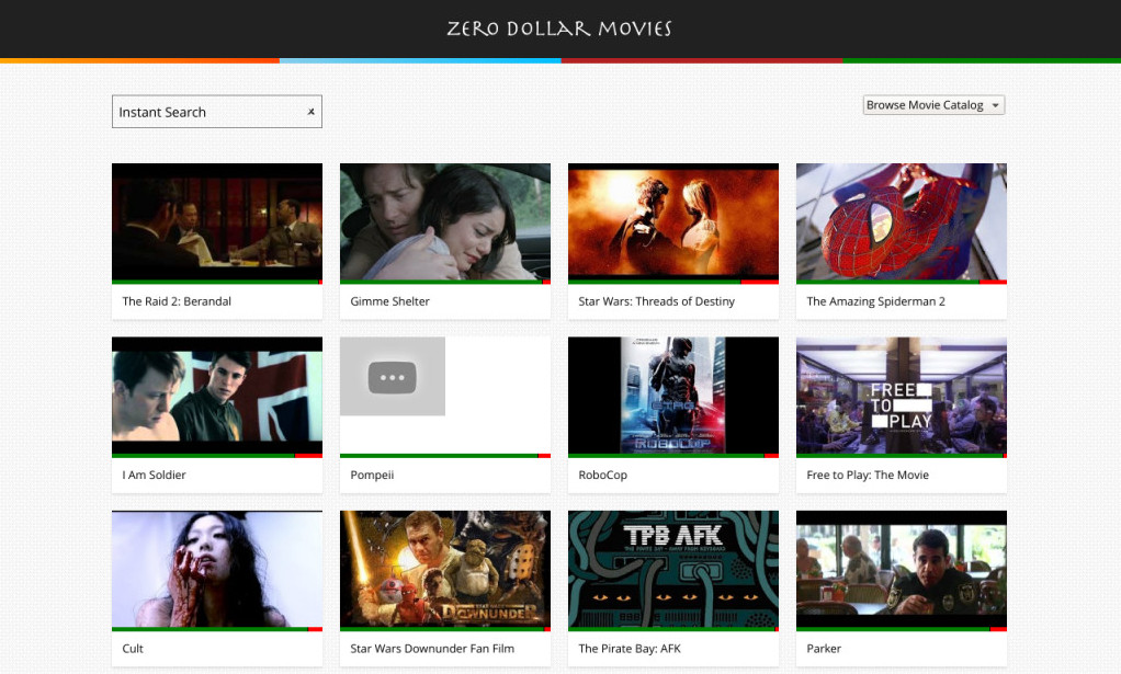Easily search Free Full Length Movies on Youtube