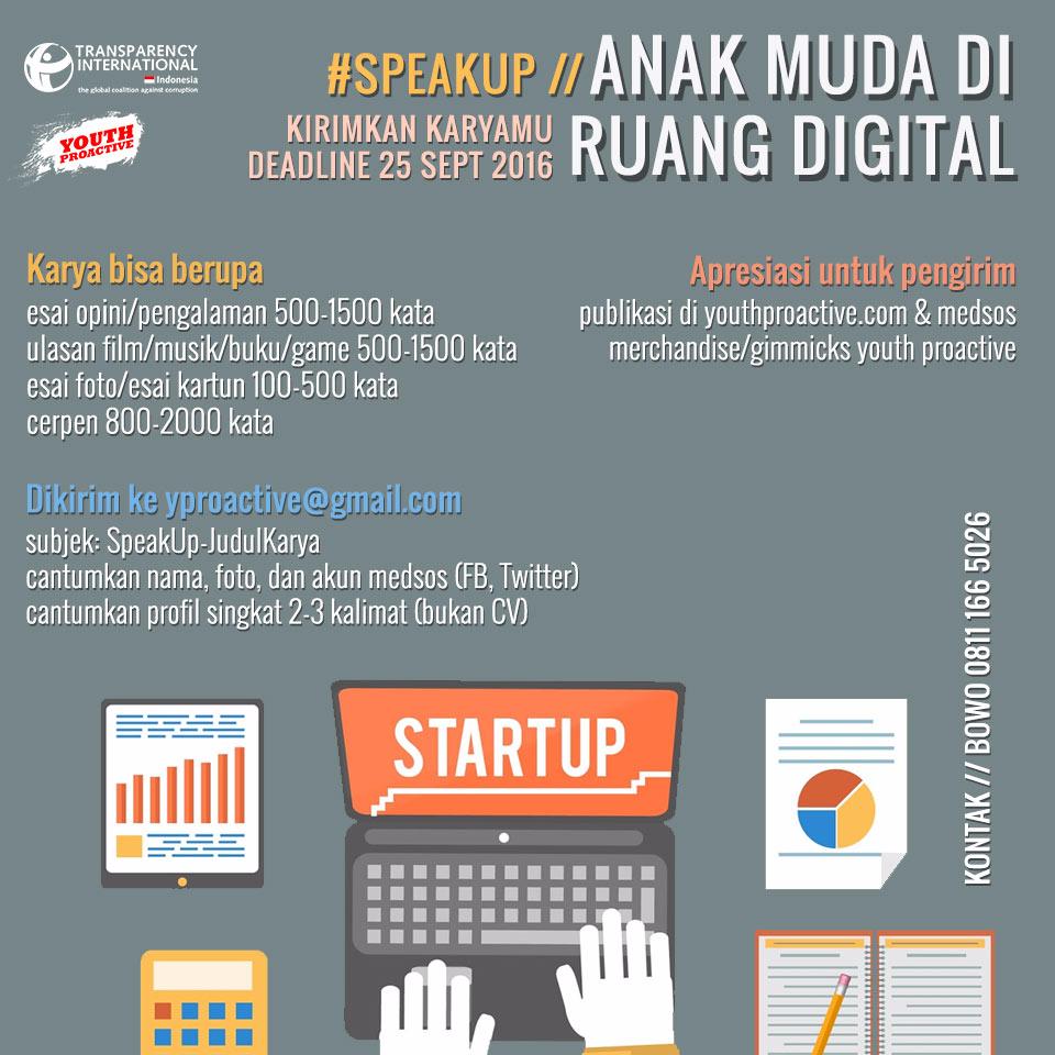 #SpeakUp: Anak Muda di Ruang Digital