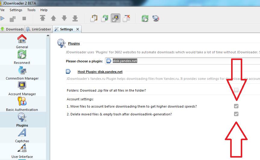 Solved] Yandex disk  JD1 detects its links - JDownloader