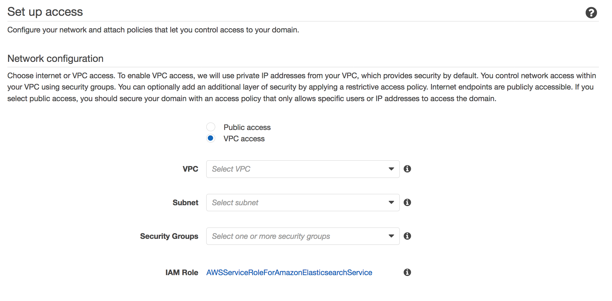 Amazon Web Services Releases Elasticsearch VPC Support