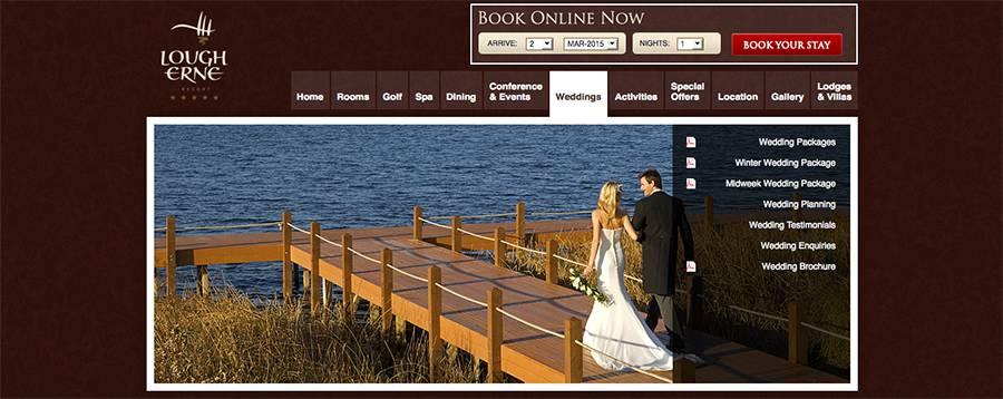 Juice Wedding Band Northern Ireland | pic of the Lough Erne Resort Enniskillen website
