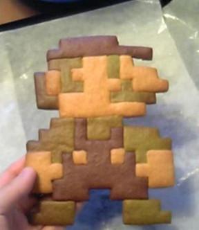 mario ginger bread
