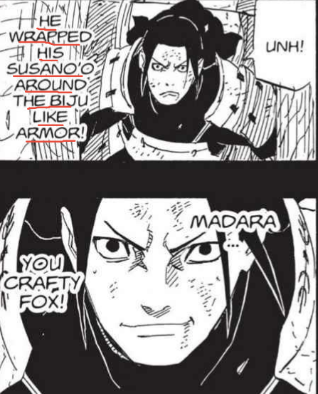 Madara and Hashirama vs the Otsutsukis